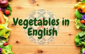 List of vegetables in English